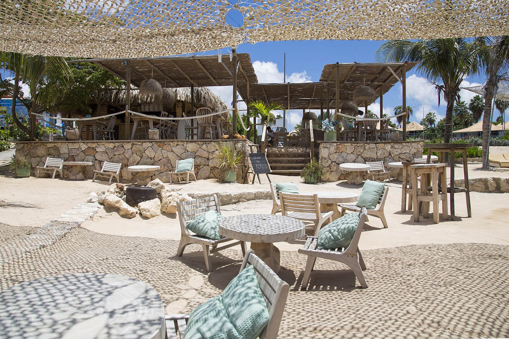 The Jan Thiel Area with plenty of sun, sea, relaxing atmosphere, and all the delicious food.